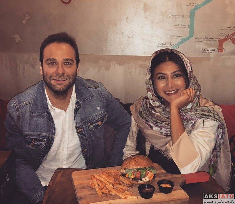 بازیگران بازیگران زن ایرانی  عکس های جدید آزاده صمدی در خرداد ماه 97 (6 تصویر)