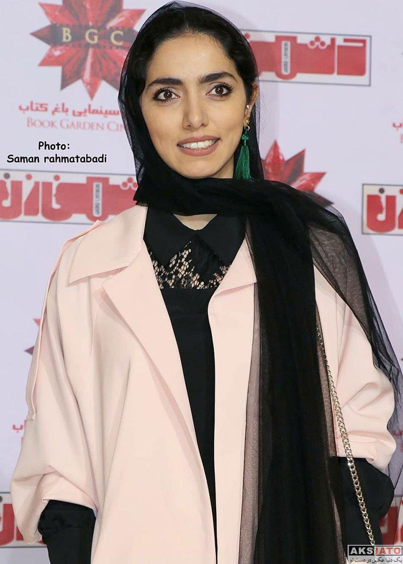 بازیگران بازیگران زن ایرانی  آزاده سدیری در اکران خصوصی فیلم دشمن زن (4 عکس)