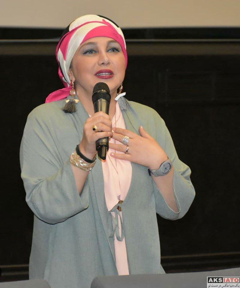 بازیگران بازیگران زن ایرانی  بهنوش بختیاری در اکران مردمی فیلم در وجه حامل (4 عکس)
