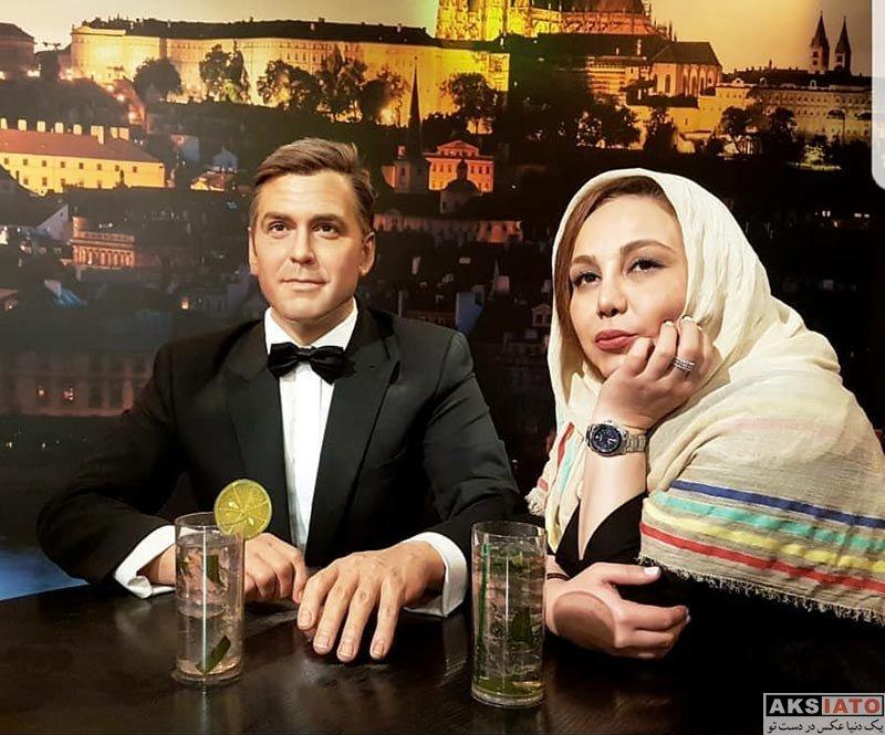 بازیگران بازیگران زن ایرانی  عکس های بهنوش بختیاری در شهر پراگ (6 عکس)