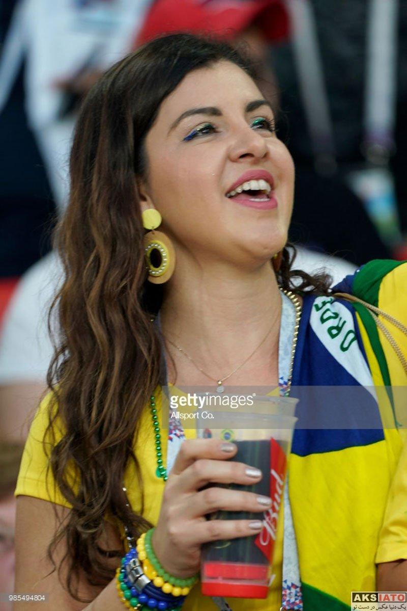 بازیگران  تماشاگران بازی تیم ملی برزیل و صربستان (14 عکس)