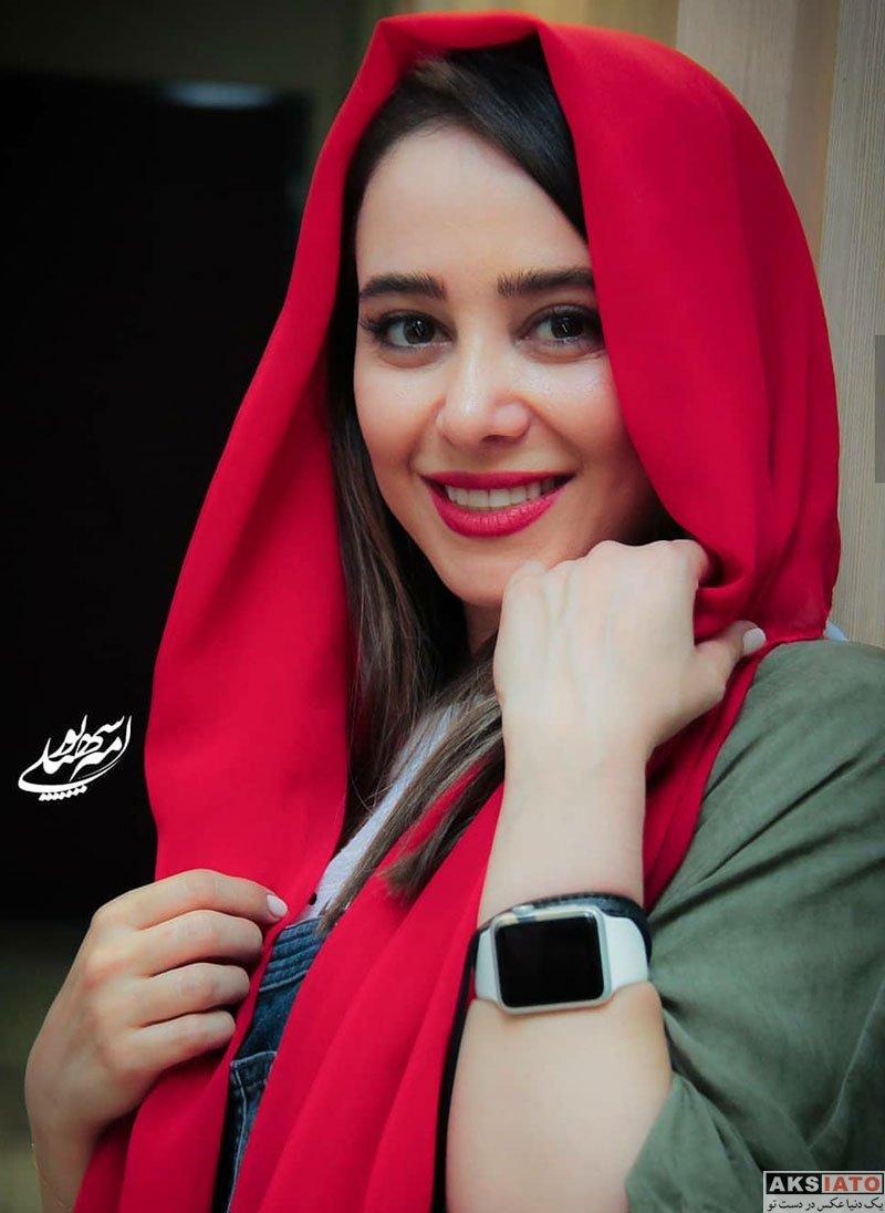 بازیگران بازیگران زن ایرانی  الناز حبیبی در اکران مردمی فیلم دشمن زن (6 عکس)