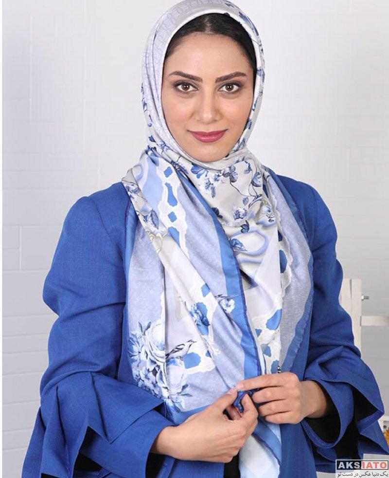 بازیگران بازیگران زن ایرانی  عکس های مارال و مونا فرجاد برای مجله خانواده سبز (5 تصویر)