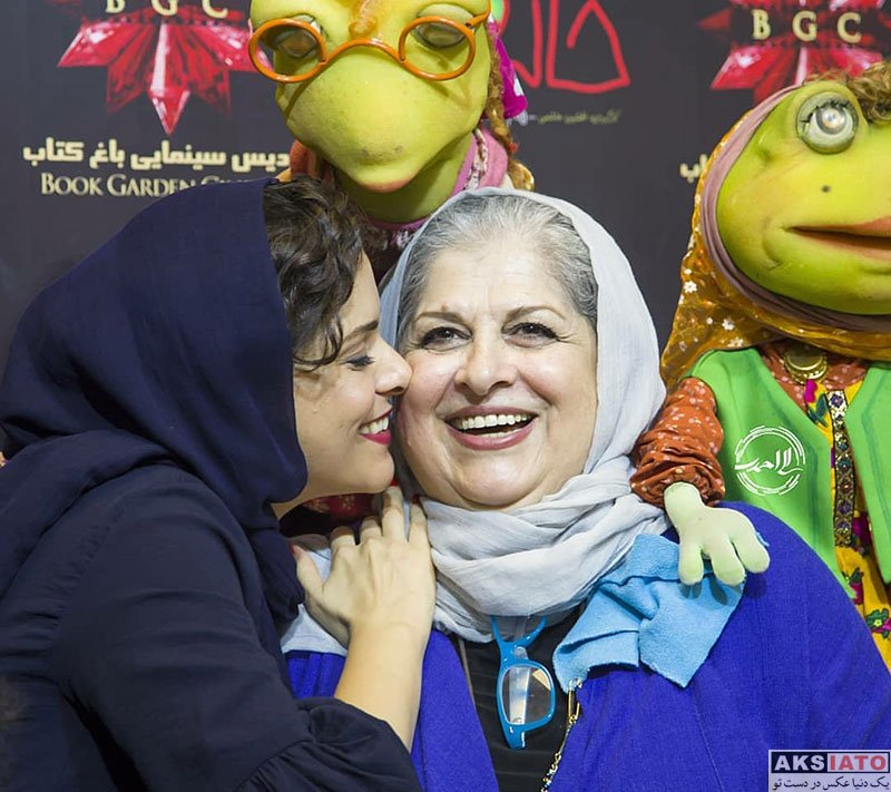 بازیگران بازیگران زن ایرانی  غزل شاکری در اکران افتتاحیه فیلم خاله قورباغه (6 عکس)