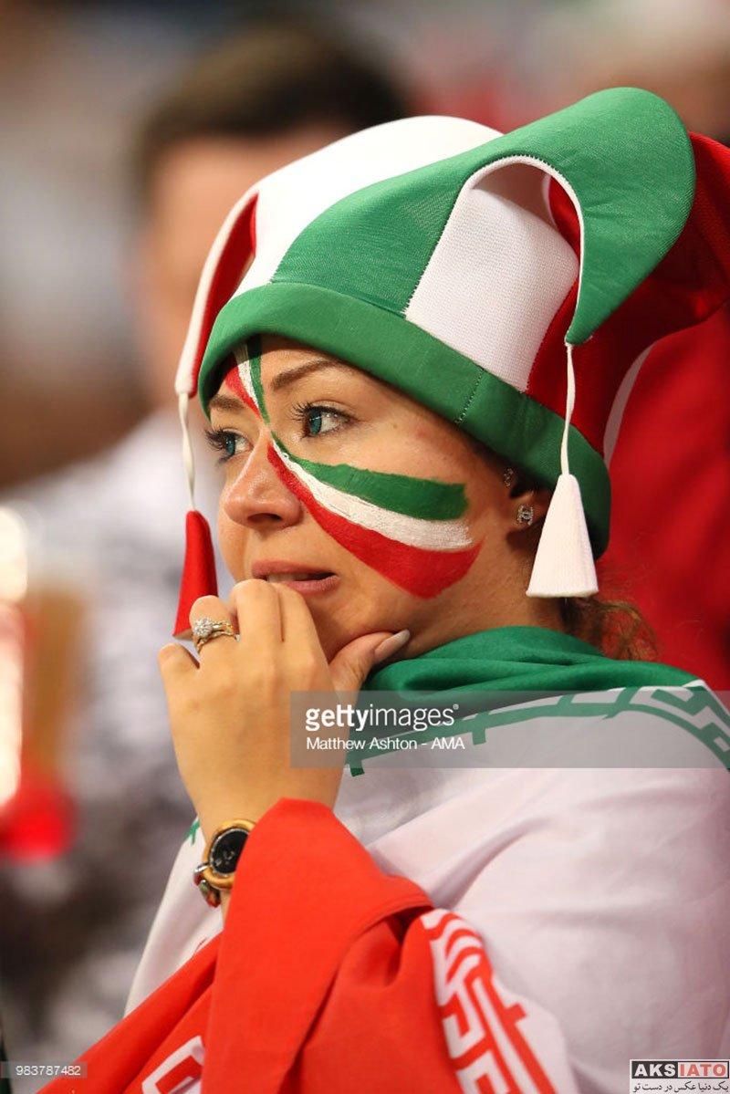 بازیگران  تماشاگران ایرانی بازی تیم ملی برابر پرتغال (22 عکس)