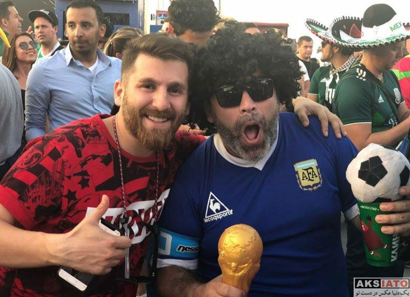 ورزشکاران ورزشکاران مرد  رضا پرستش مسی ایرانی در روسیه (4 عکس)