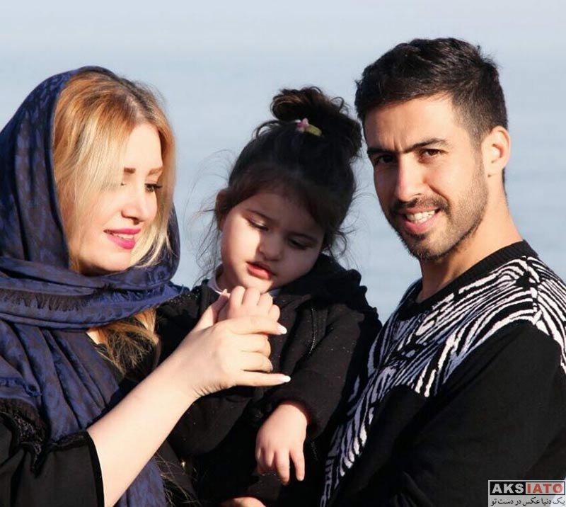 ورزشکاران ورزشکاران مرد  عکس جدید خسرو حیدری در کنار همسر و دخترش روشنا