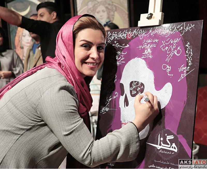 بازیگران بازیگران زن ایرانی  ماه چهره خلیلی در اجرای نمایش هگزا شهر دوشیزگان