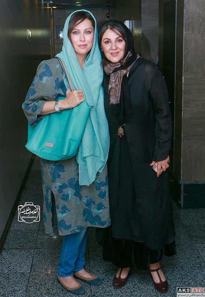 بازیگران بازیگران زن ایرانی  مهتاب کرامتی در اکران مردمی فیلم ناخواسته (5 عکس)