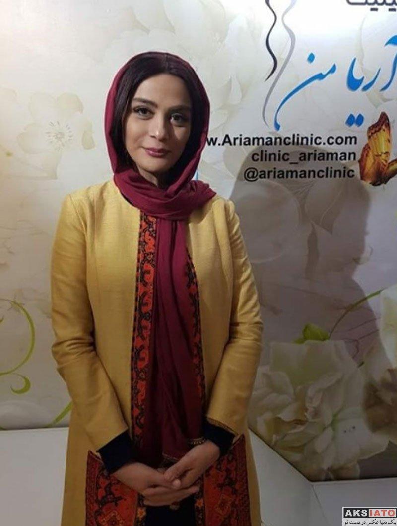 بازیگران بازیگران زن ایرانی  مارال فرجاد در کلینیک زیبایی آریامن (۳ عکس)