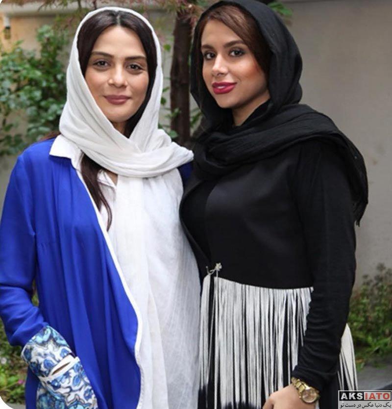 بازیگران بازیگران زن ایرانی  مارال فرجاد در جشن اردیبهشت حجره (3 عکس)