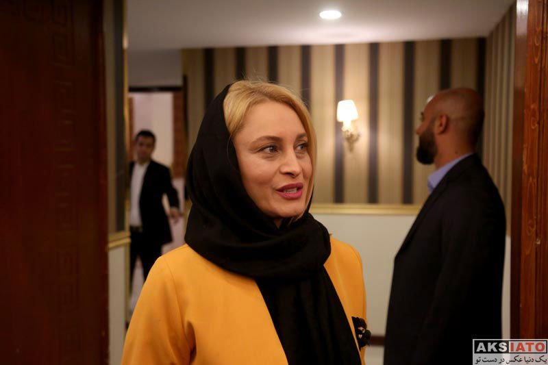 بازیگران بازیگران زن ایرانی  مریم کاویانی در ضیافت افطار جشنواره چهل چراغ (2 عکس)