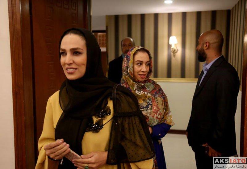 بازیگران بازیگران زن ایرانی  سوگل طهماسبی در ضیافت افطار جشنواره چهل چراغ (4 عکس)