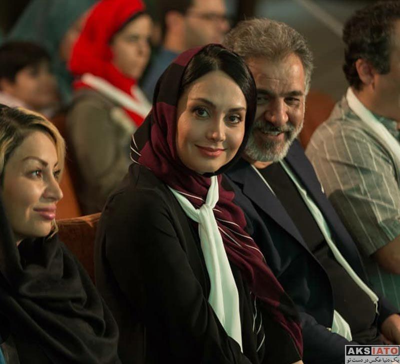 بازیگران بازیگران زن ایرانی  مریم خدارحمی در پانزدهمین جشن نفس (3 عکس)