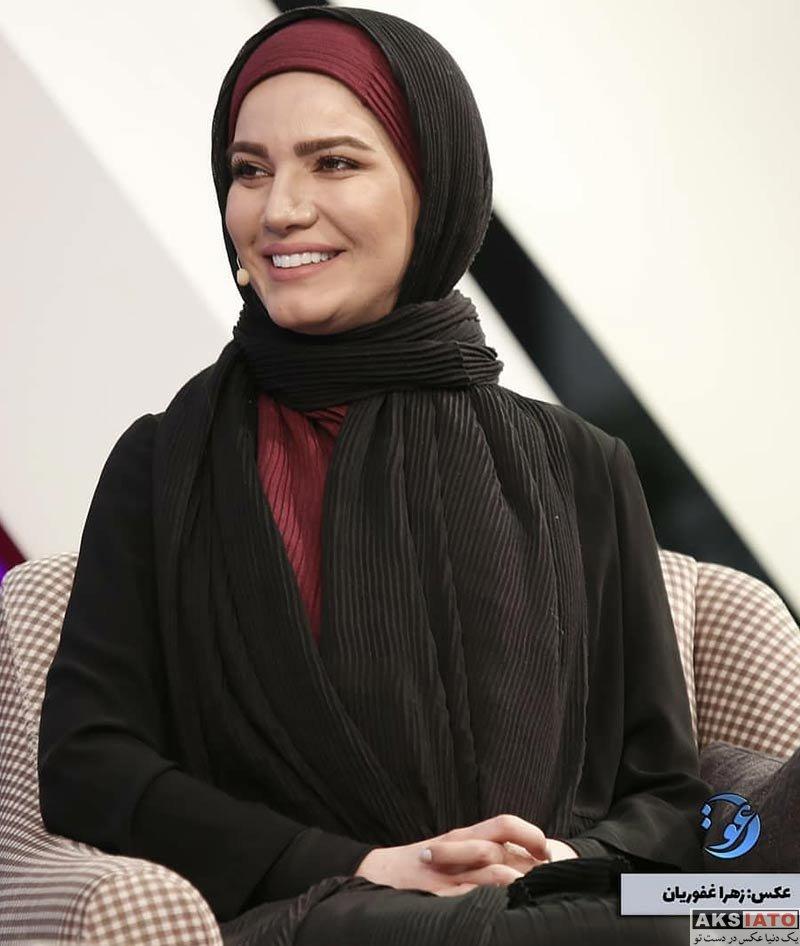 بازیگران بازیگران زن ایرانی  متین ستوده در برنامه دعوت در شبکه دو (۳ عکس)