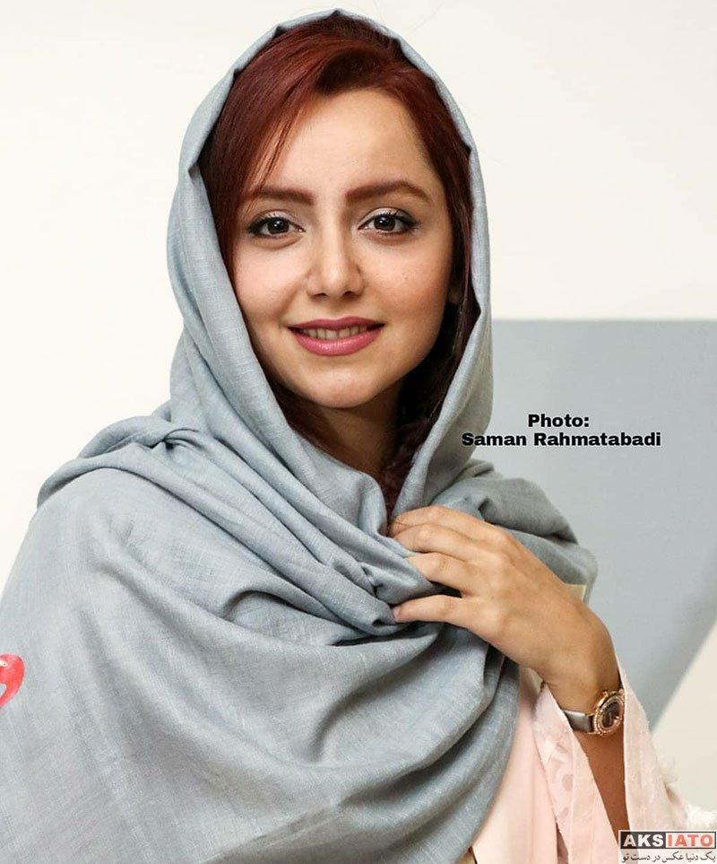 بازیگران بازیگران زن ایرانی  نازنین بیاتی در اکران افتتاحیه فیلم خاله قورباغه (۶ عکس)