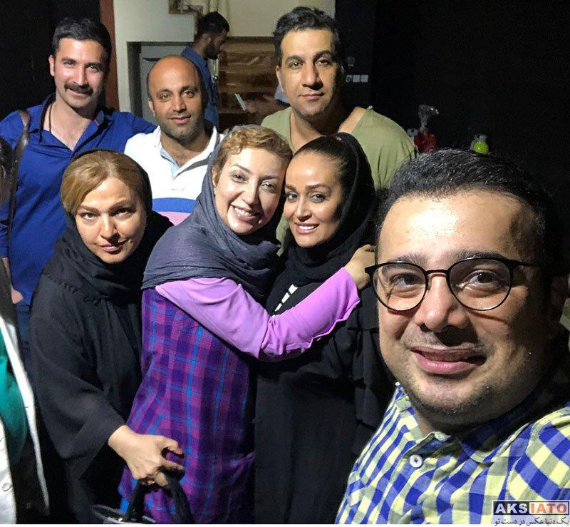 بازیگران بازیگران زن ایرانی  نگار عابدی و بهاره رهنما در نمایش بلافیگورا (3 عکس)