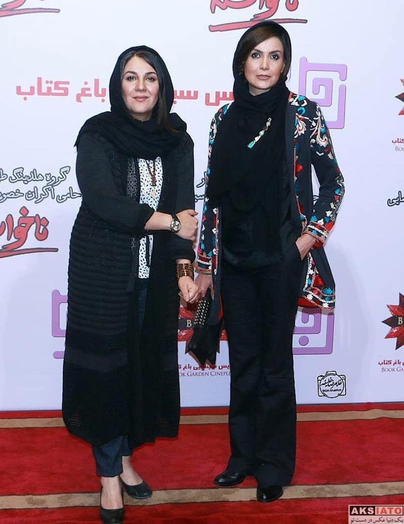 بازیگران بازیگران زن ایرانی  سامیه لک در مراسم اکران خصوصی فیلم ناخواسته (3 عکس)