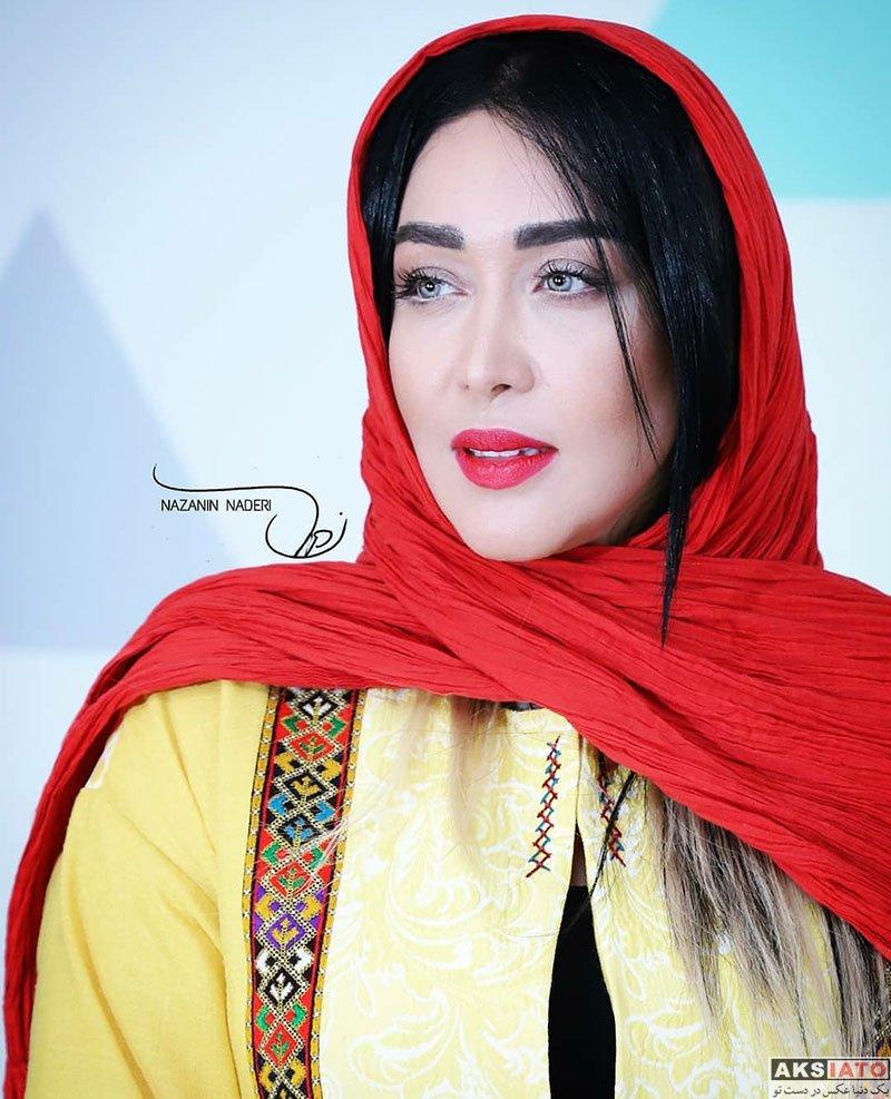 بازیگران بازیگران زن ایرانی  سارا منجزی در اکران خصوصی فیلم شماره ۱۷ سهیلا (5 عکس)