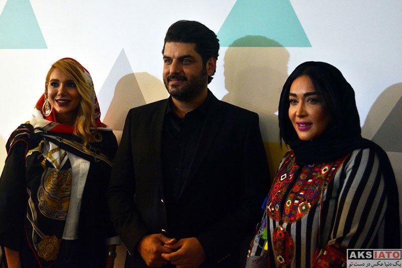 بازیگران بازیگران زن ایرانی  سارا منجزی در اکران خصوصی فیلم دشمن زن (4 عکس)