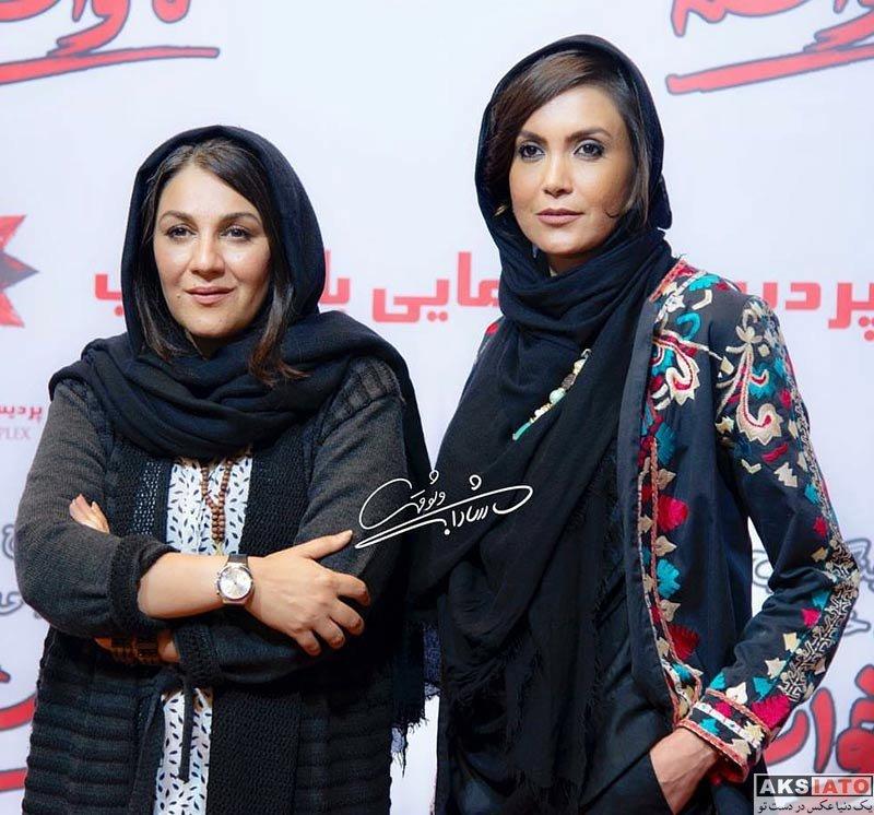 بازیگران بازیگران زن ایرانی  ستاره اسکندری در مراسم اکران خصوصی فیلم ناخواسته (3 عکس)