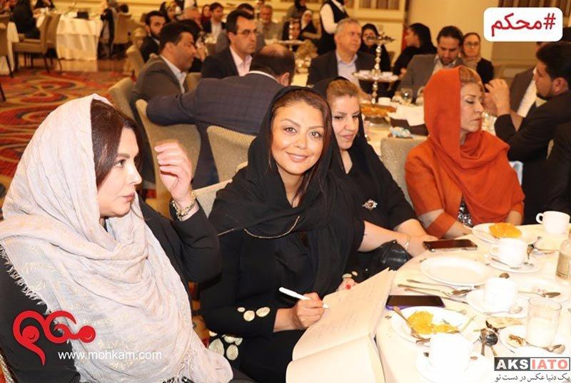 بازیگران بازیگران زن ایرانی  شبنم فرشادجو در افطاری موسسه خیریه محکم (4 عکس)