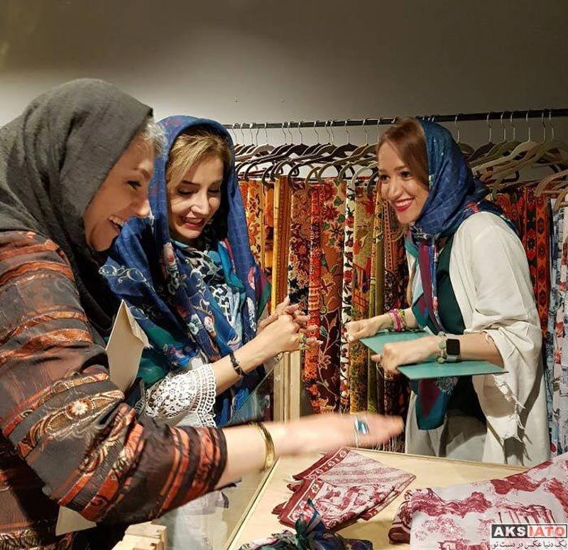 بازیگران بازیگران زن ایرانی  شبنم قلی خانی در جشن اردیبهشت حجره (4 عکس)