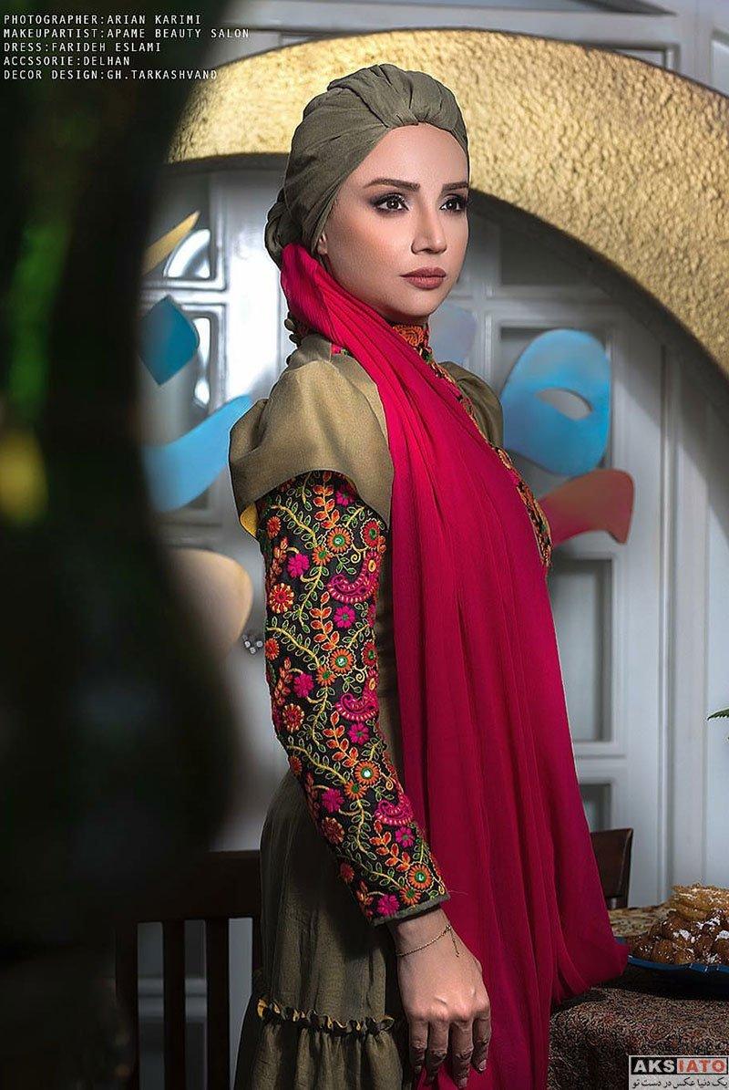 بازیگران بازیگران زن ایرانی  عکس های خاص شبنم قلی خانی ویژه ماه رمضان 97
