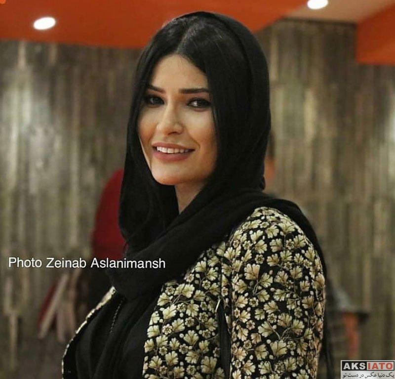 بازیگران بازیگران زن ایرانی  شیوا طاهری در اکران افتتاحیه فیلم به وقت خماری (4 عکس)