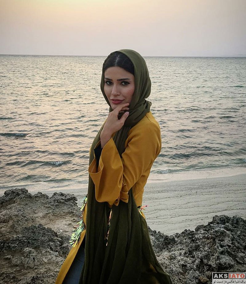 بازیگران بازیگران زن ایرانی  شیوا طاهری در جزیره زیبای کیش (6 عکس)