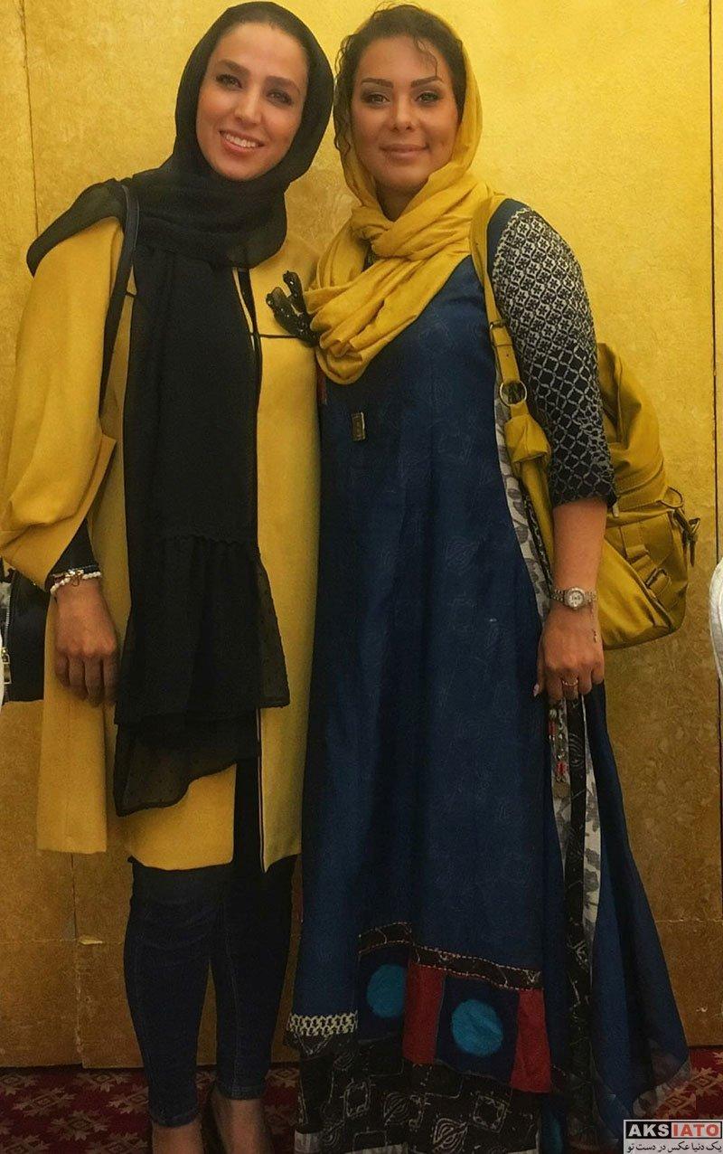بازیگران بازیگران زن ایرانی  سوگل طهماسبی در ضیافت افطار جشنواره چهل چراغ (3 عکس)