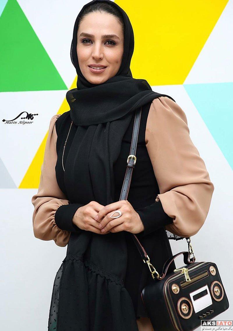 بازیگران بازیگران زن ایرانی  سوگل طهماسبی در اکران خصوصی فیلم دشمن زن (4 عکس)