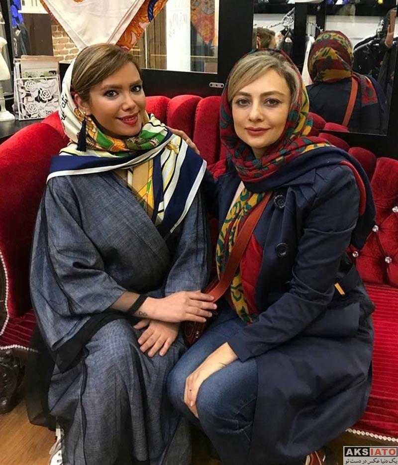 بازیگران بازیگران زن ایرانی  یکتا ناصر در بوتیک لباس درسانا (3 عکس)