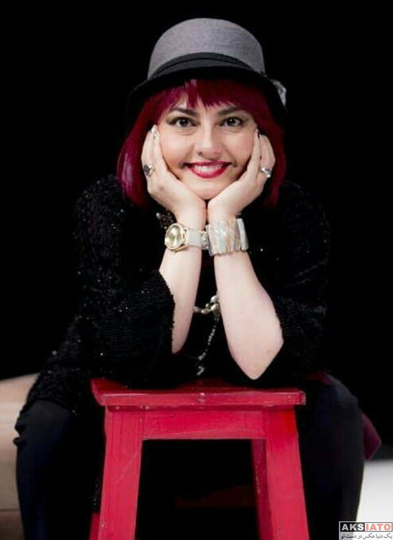 بازیگران بازیگران زن ایرانی  گریم متفاوت آناهیتا همتی در نمایش شلیک به تئاتر شهر (4 عکس)
