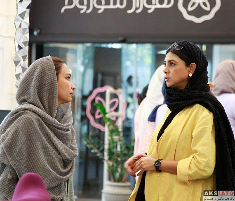بازیگران بازیگران زن ایرانی  آزاده صمدی در فروشگاه هورادشوروم (4 عکس)