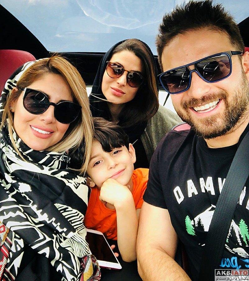 خانوادگی خوانندگان  عکس های بابک جهانبخش و همسرش در تیر 97 (5 تصویر)