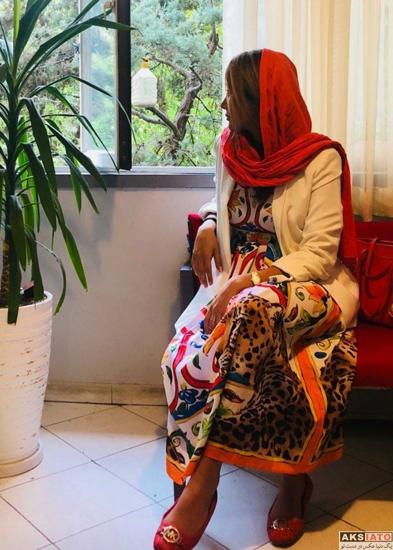 بازیگران بازیگران زن ایرانی  عکس های جدید بهاره افشاری در تیر ماه 97 (8 تصویر)