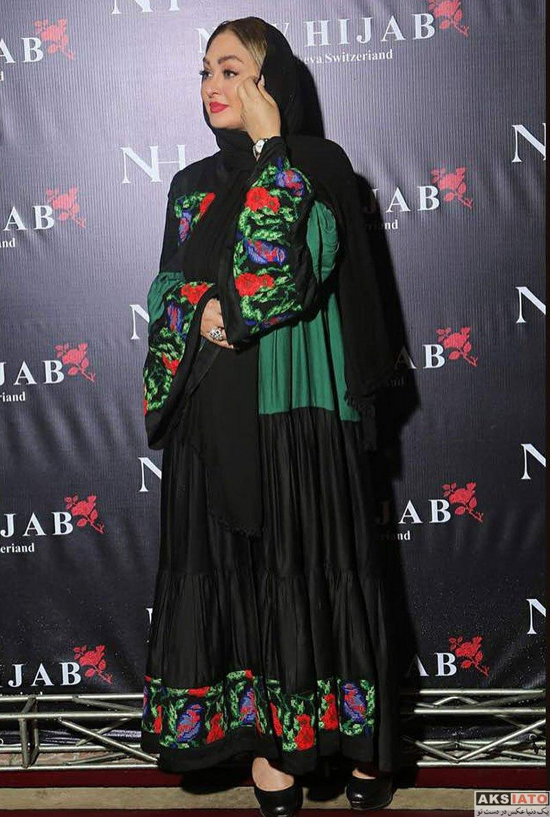 بازیگران بازیگران زن ایرانی  الهام حمیدی در افتتاحیه فروشگاه نیوحجاب در آمل (3 عکس)