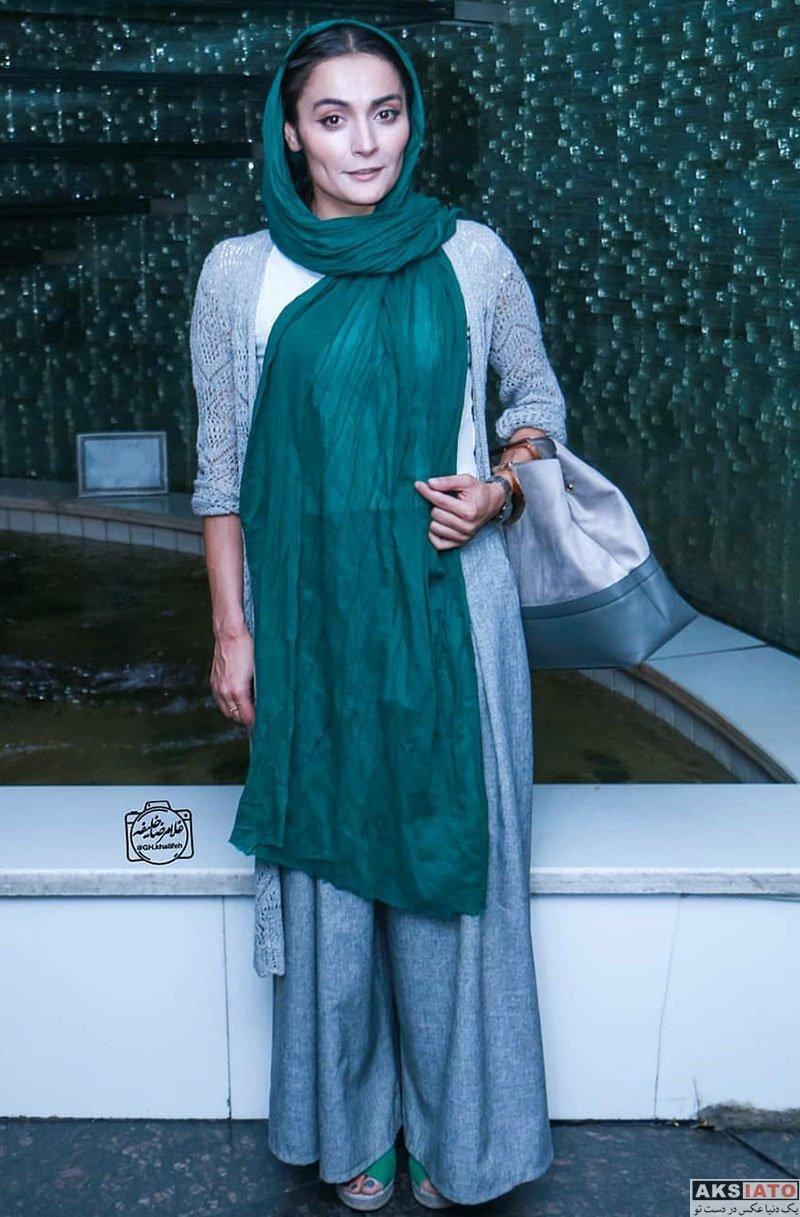 بازیگران بازیگران زن ایرانی  السا فیروزآذر در مراسم رونمایی مستند سریک (2 عکس)