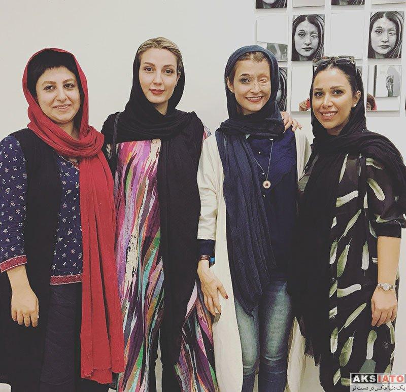 بازیگران بازیگران زن ایرانی  حدیث میرامینی در نمایشگاه عکس های نگار مسعودی (3 عکس)
