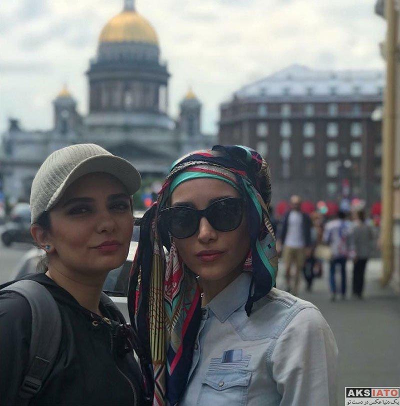 بازیگران بازیگران زن ایرانی  خاطره اسدی در کشور روسیه (4 عکس)
