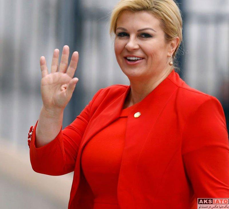 بازیگران بازیگران زن خارجی  عکس های کولیندا کیتاروویچ رئیس جمهور کرواسی (8 تصویر)
