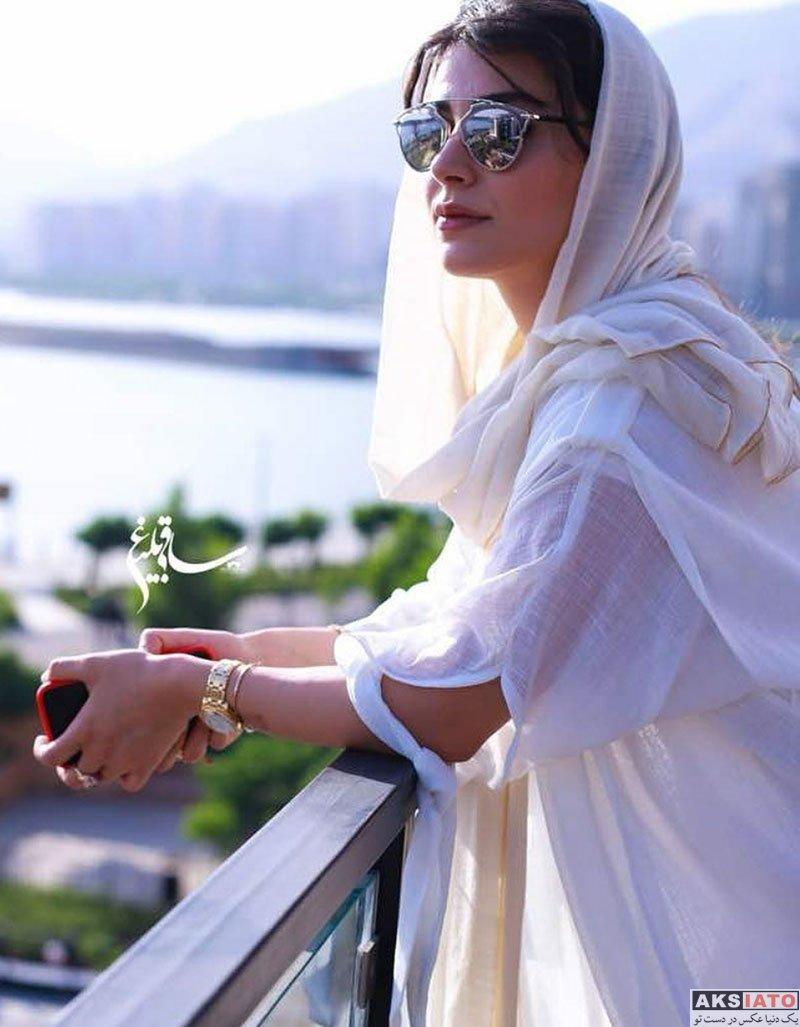 بازیگران بازیگران زن ایرانی  عکس های جدید لاله مرزبان در تیر ماه 97 (8 عکس)
