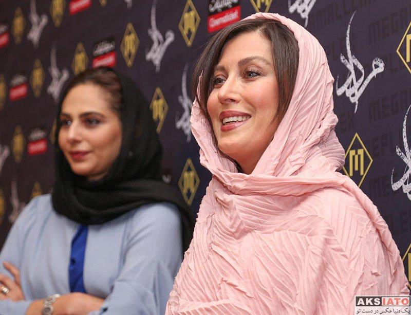 بازیگران بازیگران زن ایرانی  مهتاب کرامتی در اولین اکران مردمی فیلم مرداد (8 عکس)