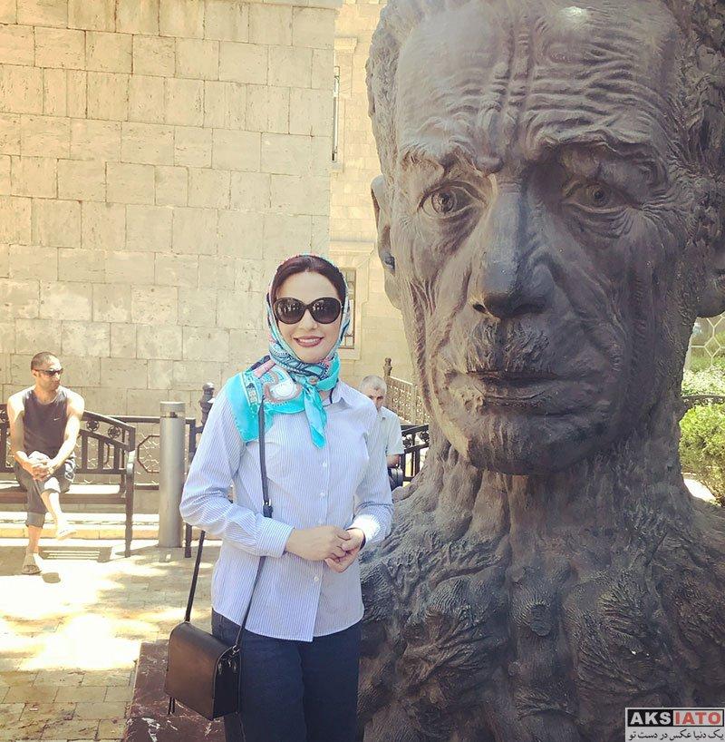 بازیگران بازیگران زن ایرانی  عکس های جدید مارال فرجاد در تیر ماه 97 (8 تصویر)
