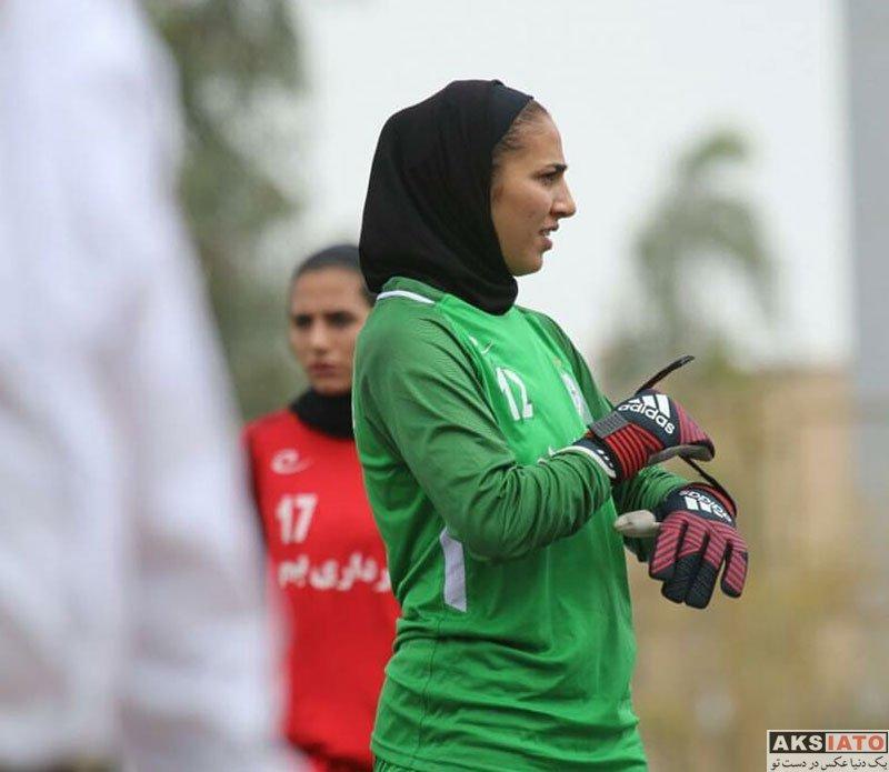 ورزشکاران ورزشکاران زن  مریم یکتایی دروازبان تیم ملی فوتبال بانوان (6 عکس)