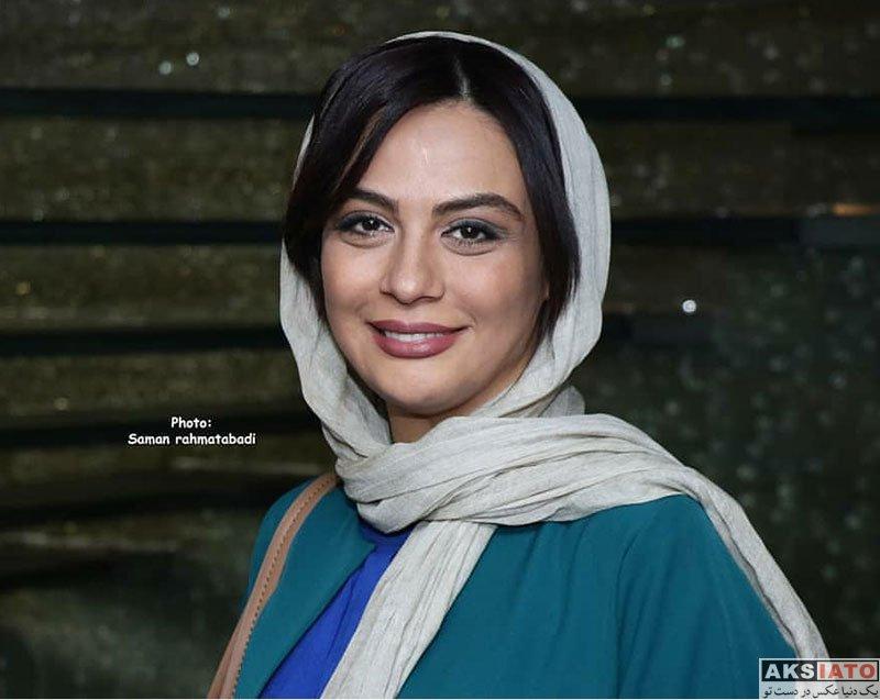 بازیگران بازیگران زن ایرانی  مارال فرجاد در مراسم رونمایی مستند سریک (۶ عکس)