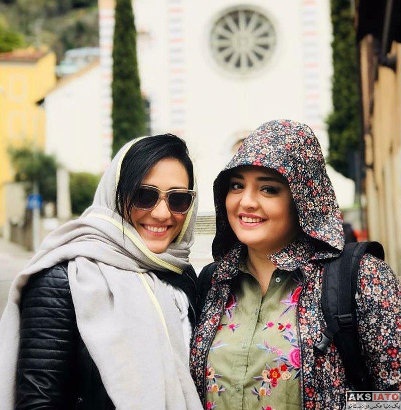 بازیگران بازیگران زن ایرانی  عکس های نرگس محمدی در تیر ماه 97 (10 تصویر)