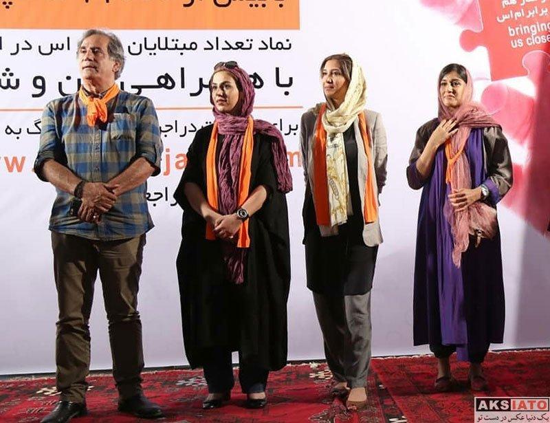 بازیگران بازیگران زن ایرانی  نیکی مظفری در اختتامیه اجرای بزرگ ترین پازل جهان (5 عکس)