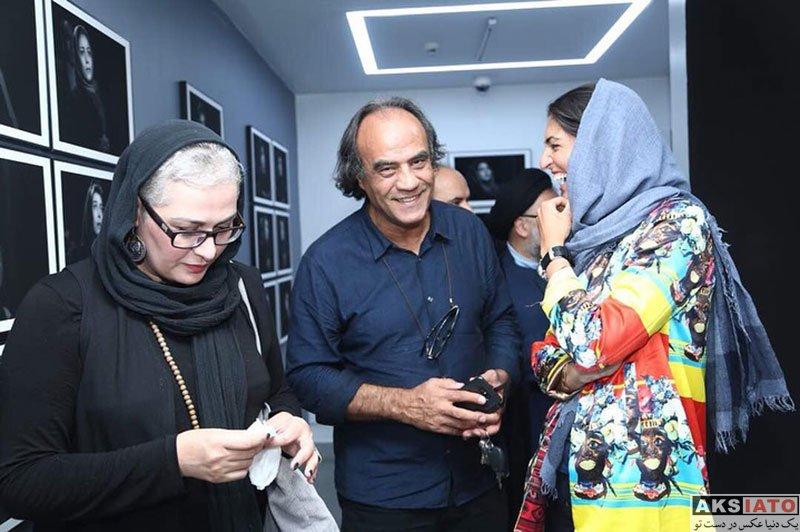 بازیگران بازیگران زن ایرانی  پریوش نظریه در نمایشگا ۱۰۰ پرتره از بازیگران (3 عکس)